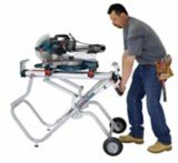 Bosch Gravity-Rise™ Wheeled Mitre Saw Stand | Bosch
