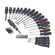 Mastercraft Screwdriver Set, 40-pc