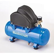 Mastercraft 2 Gallon Air Compressor & Accessories Kit