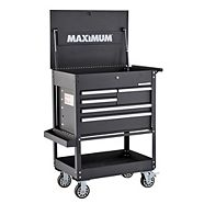 MAXIMUM 5-Drawer Mechanics Cart, 30-in