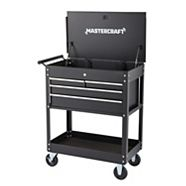 Mastercraft 4-Drawer Mechanics Cart, 30-in