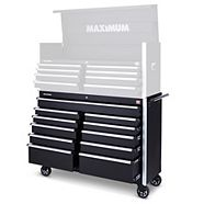 MAXIMUM 11-Drawer Tool Cabinet, 54-in