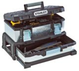 Stanley 20-in Metal Tool Box with Drawer | Stanley
