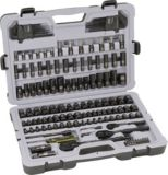 Stanley Black Chrome Socket Set, 164-pc | Stanley