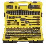 Stanley Professional Black Chrome Socket Set, 229-pc | Stanley