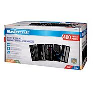 Mastercraft 400 Piece Socket Set