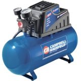 Campbell Hausfeld 3 Gallon Air Compressor with 2-in-1 Nailer | Campbell Hausfeld
