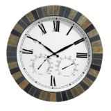 Slate Roman Numerical Clock | For Living