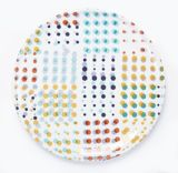 CANVAS Confetti Dinner Plate by Avril Loreti | Canvas