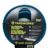 Yardworks Dry Seal All-Weather Polyurethane Slim Hose | Yardworks