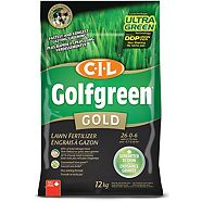 CIL Golfgreen Gold Lawn Fertilizer 26-0-6, 12-kg