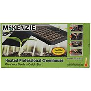 Mckenzie Seeds Jiffy 72 Cell Heated Professional Greenhouse Kit