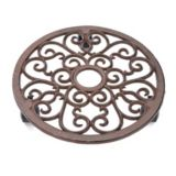 Wrought-Iron Planter Caddy | For Living