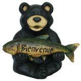 Welcome Bear Statue | For Living