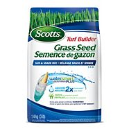 Scotts Turf Builder Sun & Shade Mix Coated Grass Seed, 1.4 kg