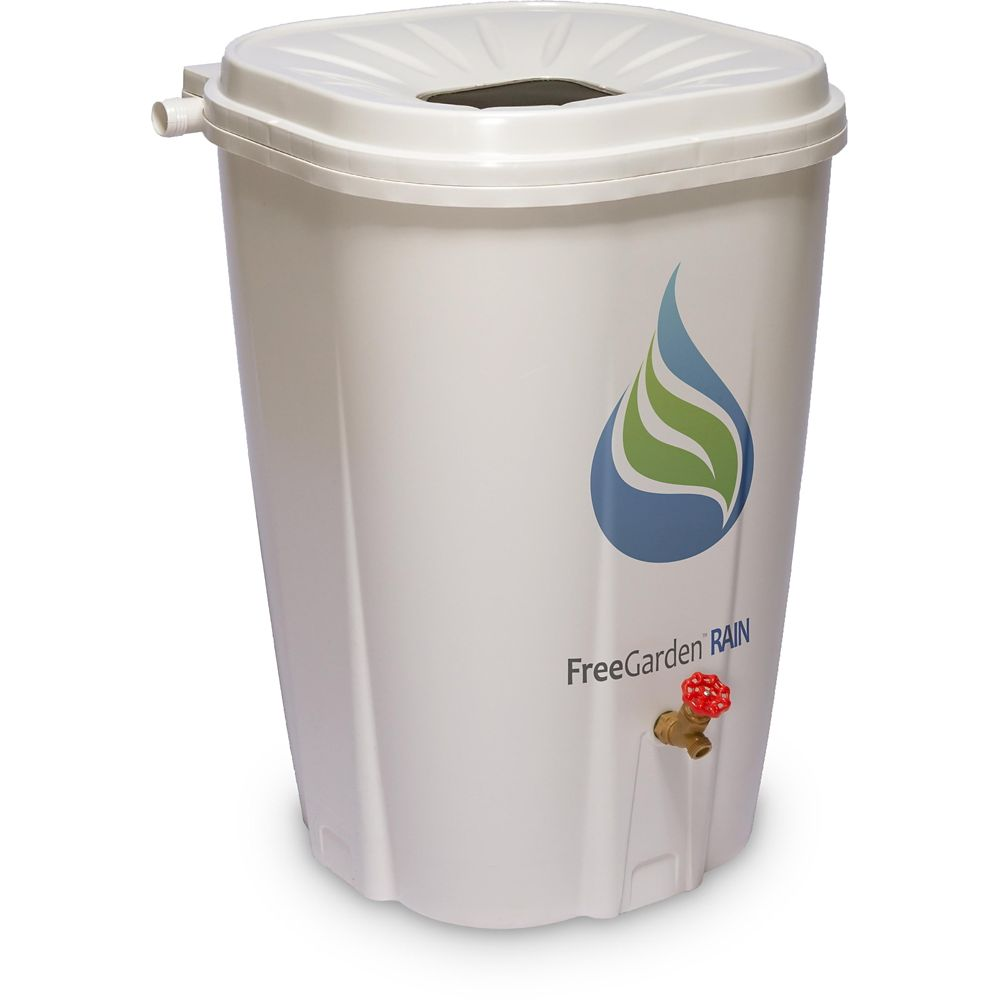 FreeGarden Rain Barrel, 200-L