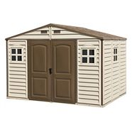 Duramax Woodside Vinyl Shed, 10-1/2 x 8-ft