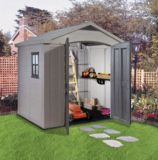 Keter Factor Shed, 8x6-ft | Keter