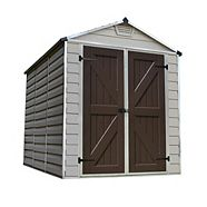 Palram Polycarbonate Shed, 6 x 8-ft
