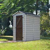Palram Polycarbonate Shed, 4 x 6-ft