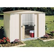 Arrow Metal Garden Shed, 8 x 6-ft
