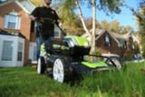 Greenworks 80V Lithium Brushless Cordless Lawn Mower, 21-in | GREENWORKS