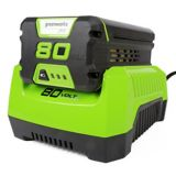 Greenworks 80V Battery Charger | GREENWORKS