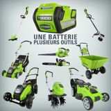 Greenworks 40V Lithium Ion Battery | GREENWORKS
