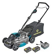 Yardworks 40V Lithium Continuous Runtime Brushless Lawn Mower, 17-in