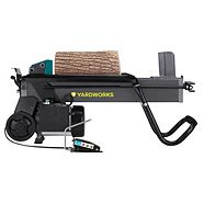 Yardworks 5-Ton Duo Cut Electric Log Splitter with pedal