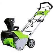 Greenworks13A Electric Snowthrower, 20-in