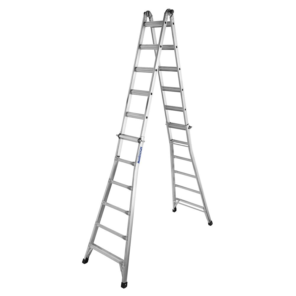 Mastercraft Multi-Task Ladder, Grade 1A, 25-ft