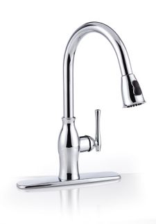 Danze Lisa Pull Down Kitchen Faucet Chrome Canadian Tire