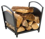 Log Holder, Black | Pleasant Hearth