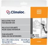 Window Indoor Insulator Kit, 5-pk | Climaloc