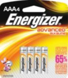 Energizer Advanced Alkaline AAA Batteries, 4-pk | Energizer