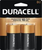 Piles alcalines D Duracell Copper Top, paq. 2 | Duracell