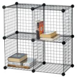 4-cube Wire Shelf | For Living