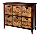 For Living Verona Wicker Chest, 6-Drawer | For Living