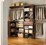 Sauder Hanover Oiled Oak Wide Closet Starter Kit | For Living