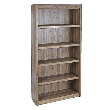 Sauder County Line 5 Shelf Bookcase