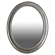 Oval Royal Wall Mirror, 24 x 30-in