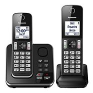 Panasonic 2-Handset Cordless Phone with Answering System