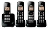Panasonic 6.0 DECT Large Display Cordless Phone, 4-Handsets | Panasonic