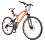 "Supercycle Ascent 26"" Full Suspension Mountain Bike 