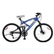 "CCM Alpine 24"" Full Suspension Mountain Bike"