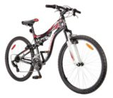 "Supercycle Jumpstart 26"" Full Suspension Mountain Bike 