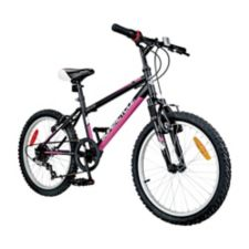 Supercycle Impulse Youth Bike, Black/Pink, 20-in