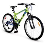 "CCM Static 24"" Full Suspension Mountain Bike 
