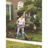 Black & Decker 6.5A 3-in-1 Electric Compact Mower/Grass Trimmer, 12-in | Black & Decker